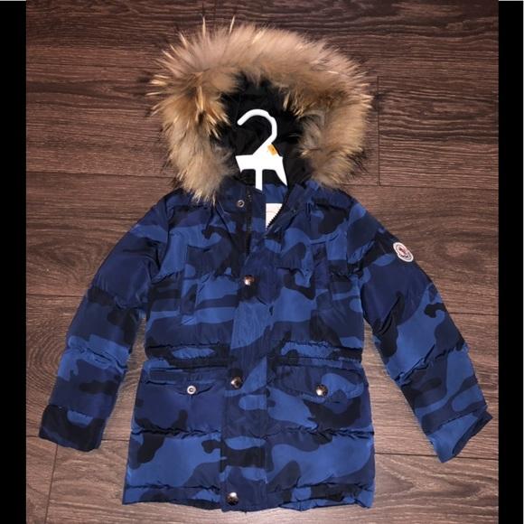761ff59f8 Moncler kids 3-4 years fur puffer coat like new